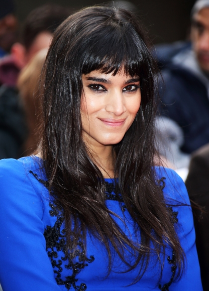 Sofia Boutella in London, on March 29, 2015.