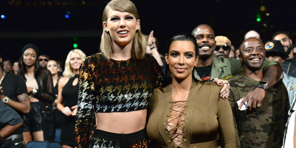 Kim Kardashian Taylor Swift Kanye West Internet Memes Time