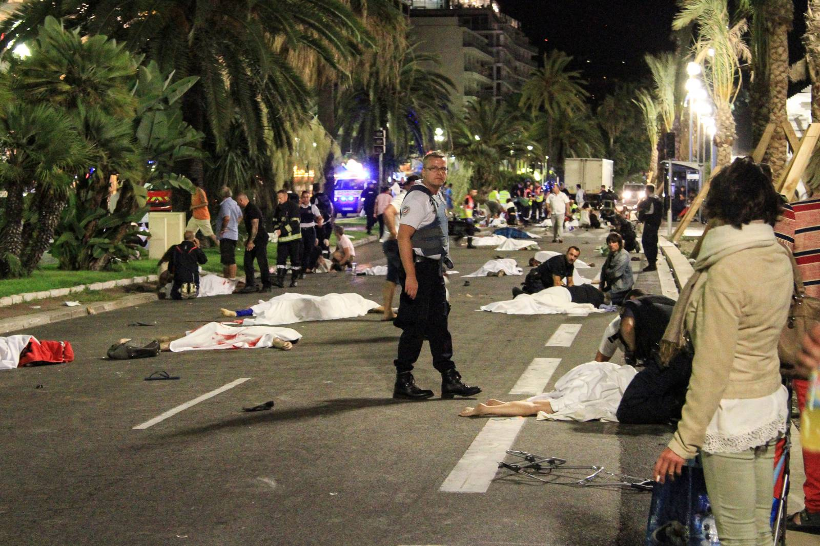 More than 80 people were killed in the July 14 terrorist attack in the southern French city of Nice