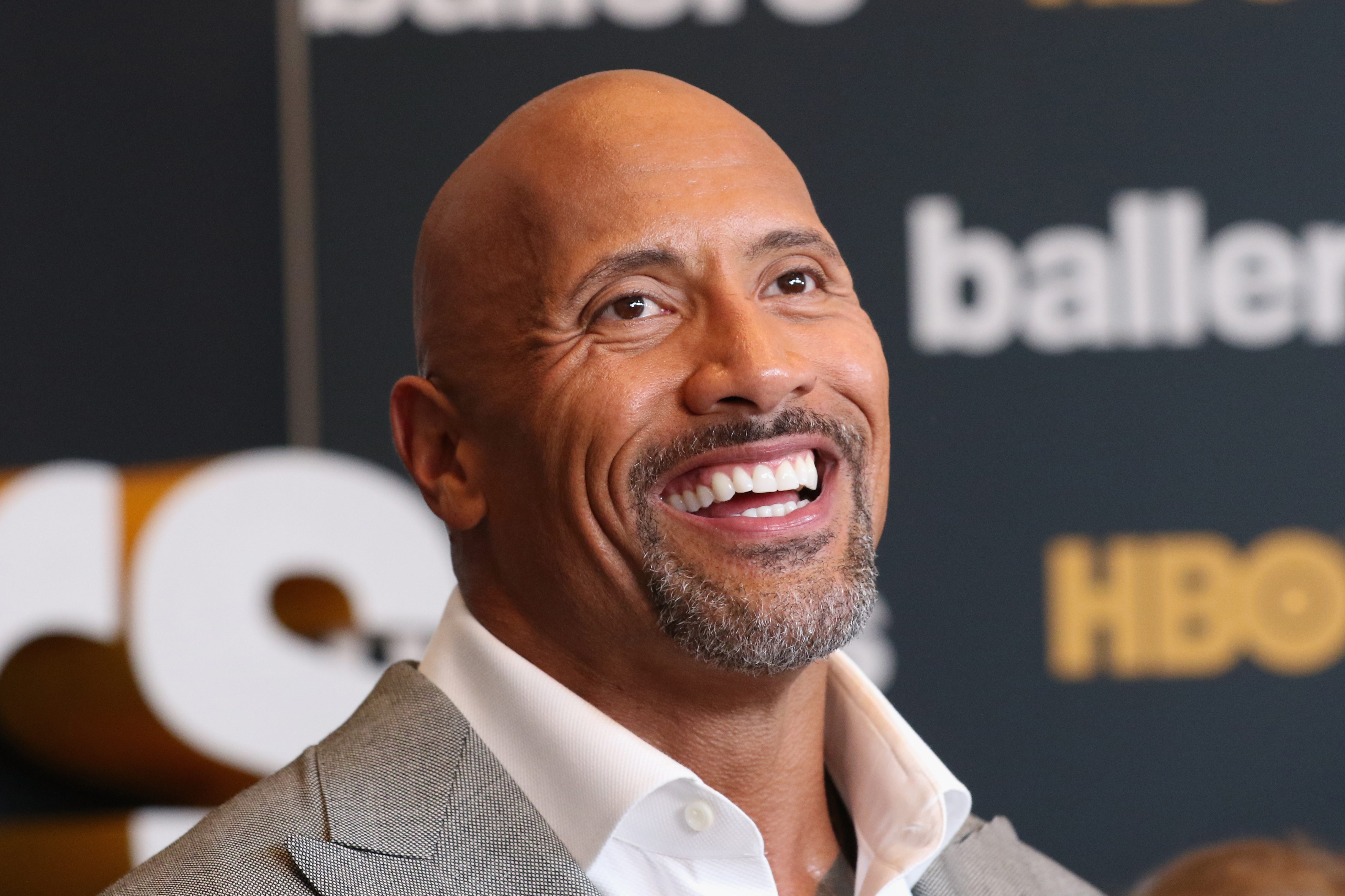 MIAMI BEACH, FL - JULY 14:  Dwayne Johnson attends the HBO  Ballers  Season 2 Red Carpet Premiere and Reception.