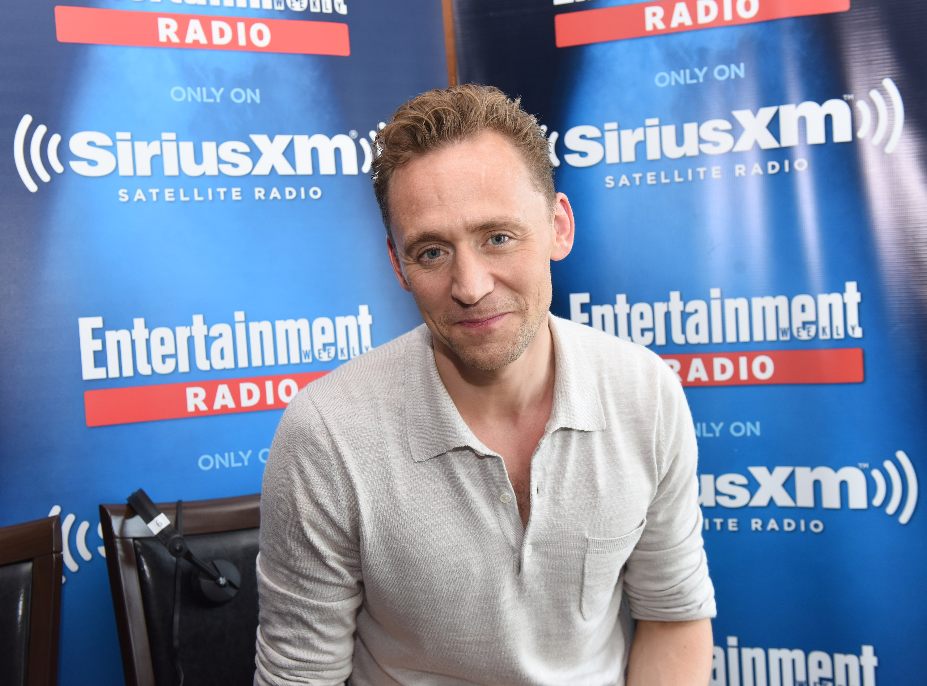 SAN DIEGO, CA - JULY 23:  Actor Tom Hiddleston attends SiriusXM's Entertainment Weekly Radio Channel Broadcasts From Comic-Con 2016 at Hard Rock Hotel San Diego on July 22, 2016 in San Diego, California.  (Photo by Vivien Killilea/Getty Images for SiriusXM)
