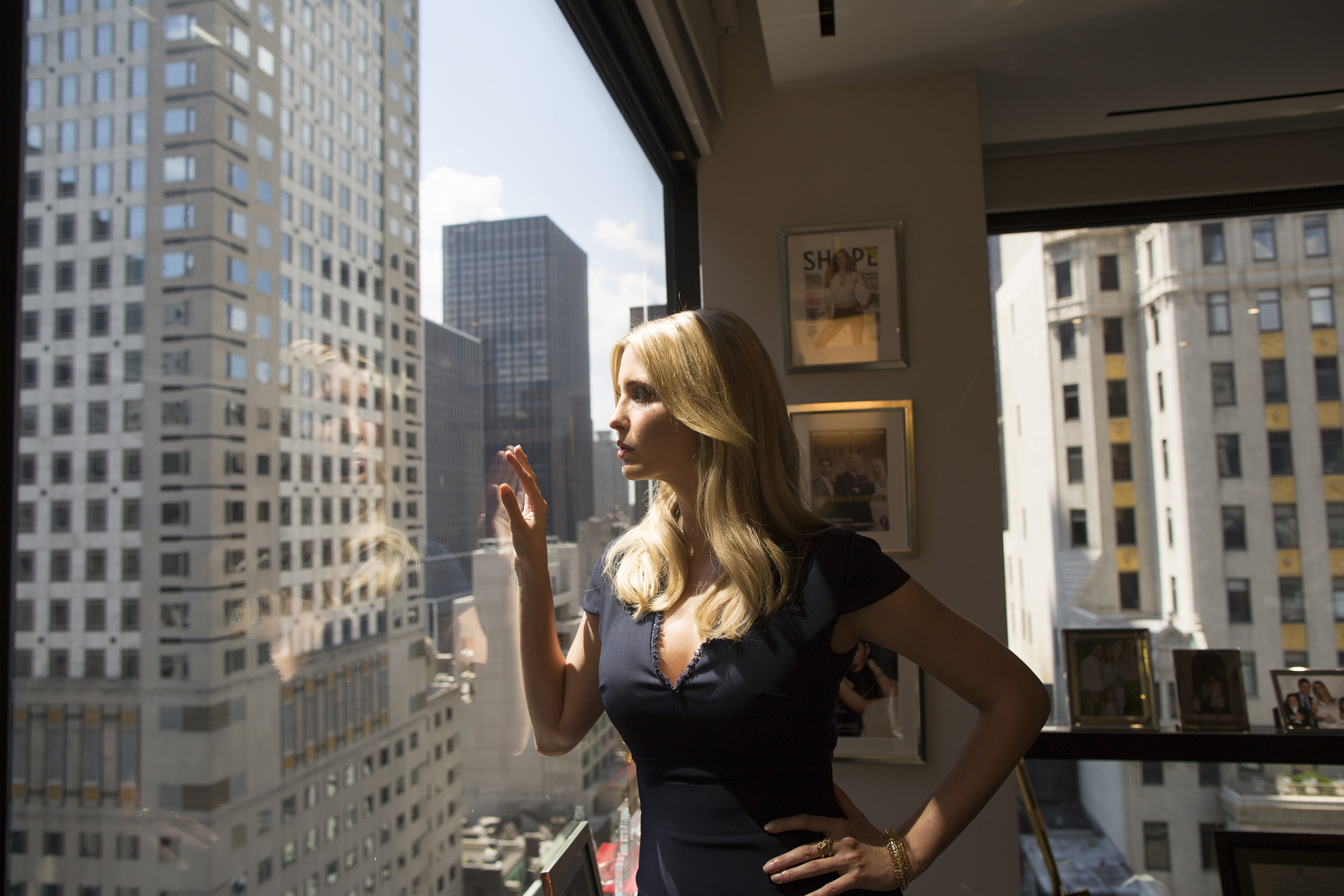 Ivanka Trump in her office at Trump Tower in New York City on July 6, 2016.