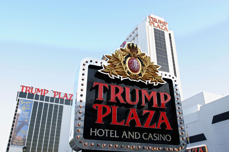 The Trump Plaza Hotel and Casino in Atlantic City, May 8, 2004.