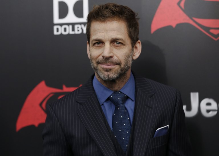 Zack Snyder attends the New York Premiere of his new film 'Batman v Superman: Dawn of Justice' in New York on March 20, 3016.