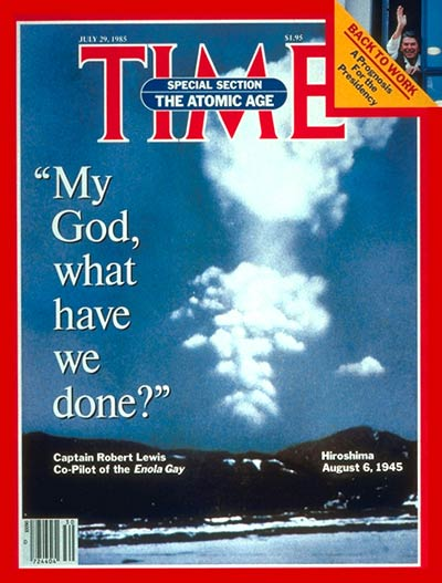 The July 29, 1985, cover of TIME