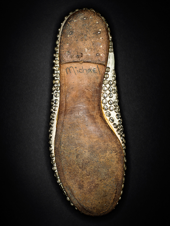 Michael Jackson's studded shoe.