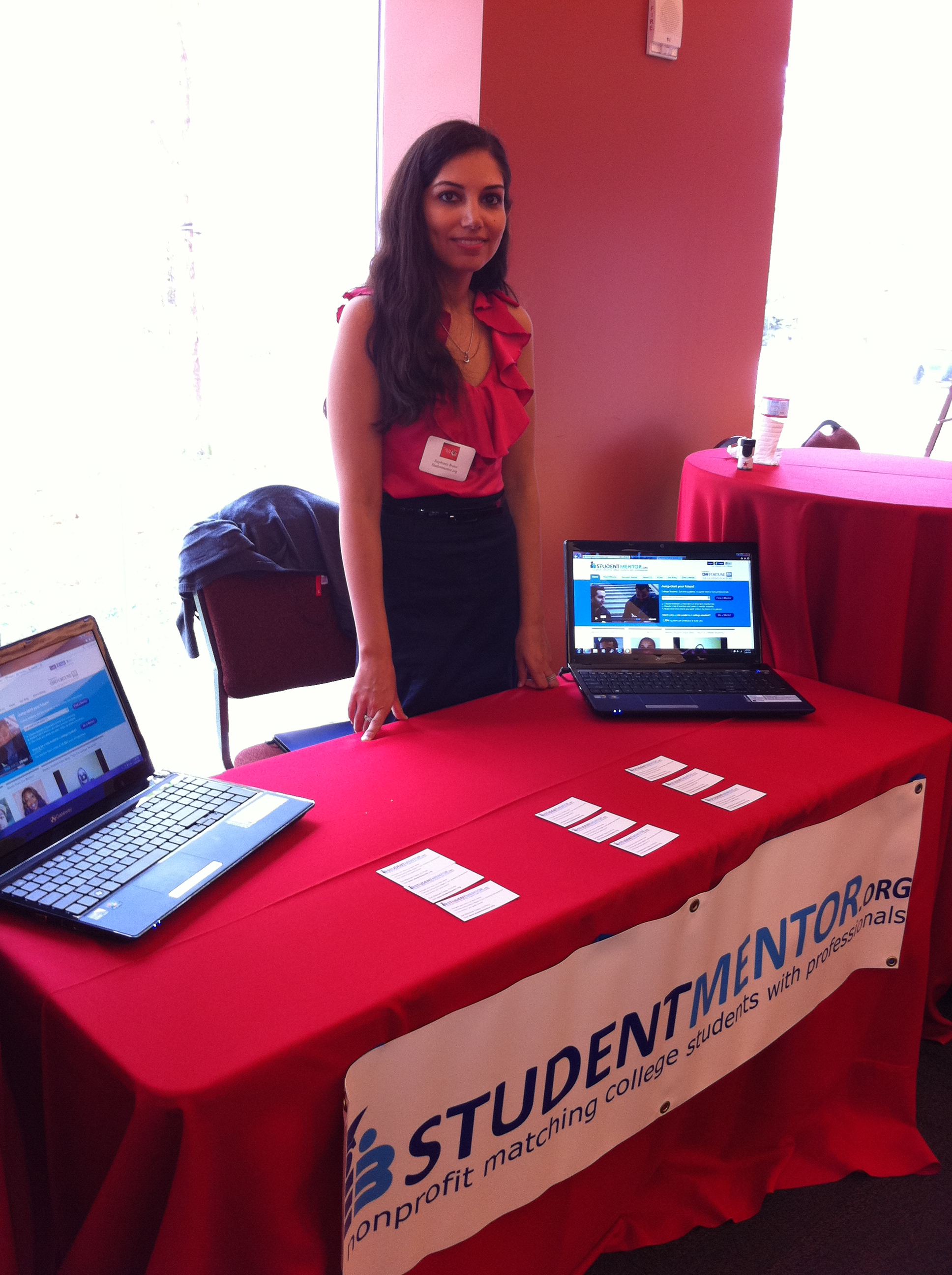 Stephanie Bravo, chief program officer of Strive for College, is the co-founder of StudentMentor.org.