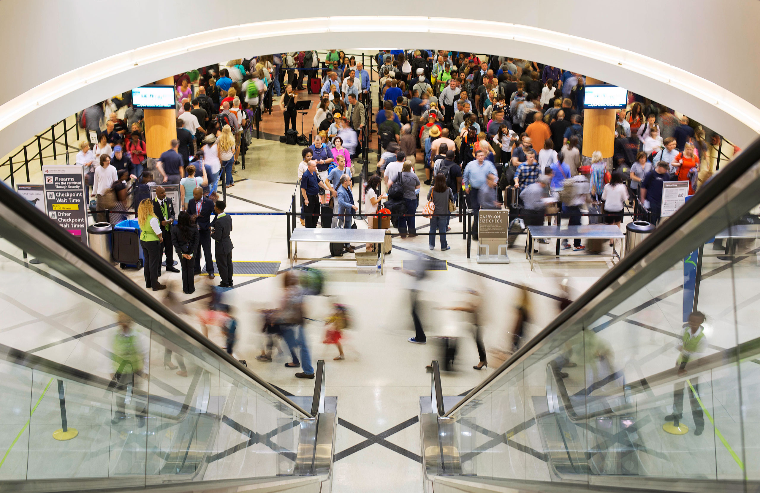 Earlier this summer, Atlanta's Hartsfield-Jackson International Airport had massive security line delays; it's seen improvement under a new system that is now being tested
