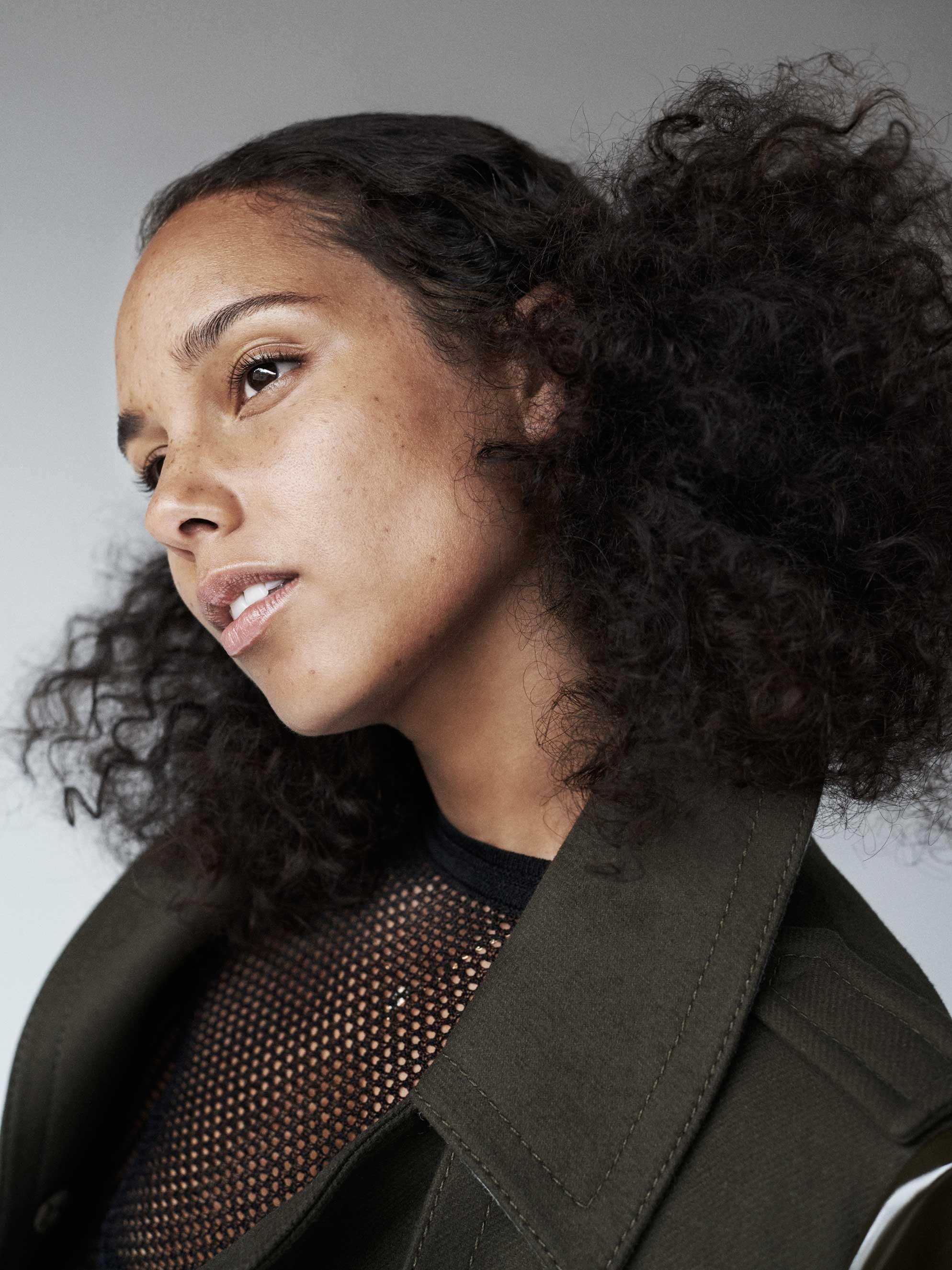 Portrait of Alicia Keys
