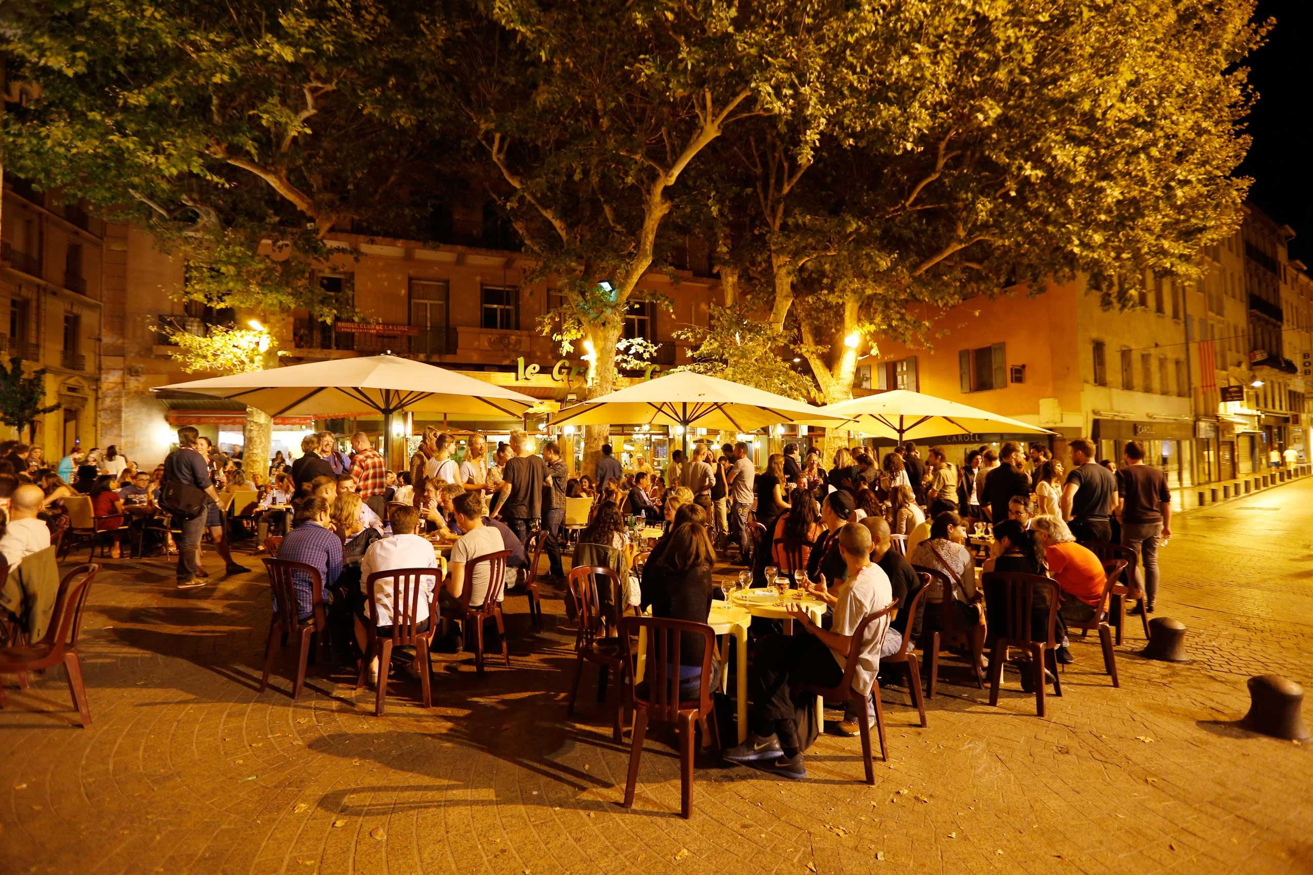 Perpignan's Café de la Poste