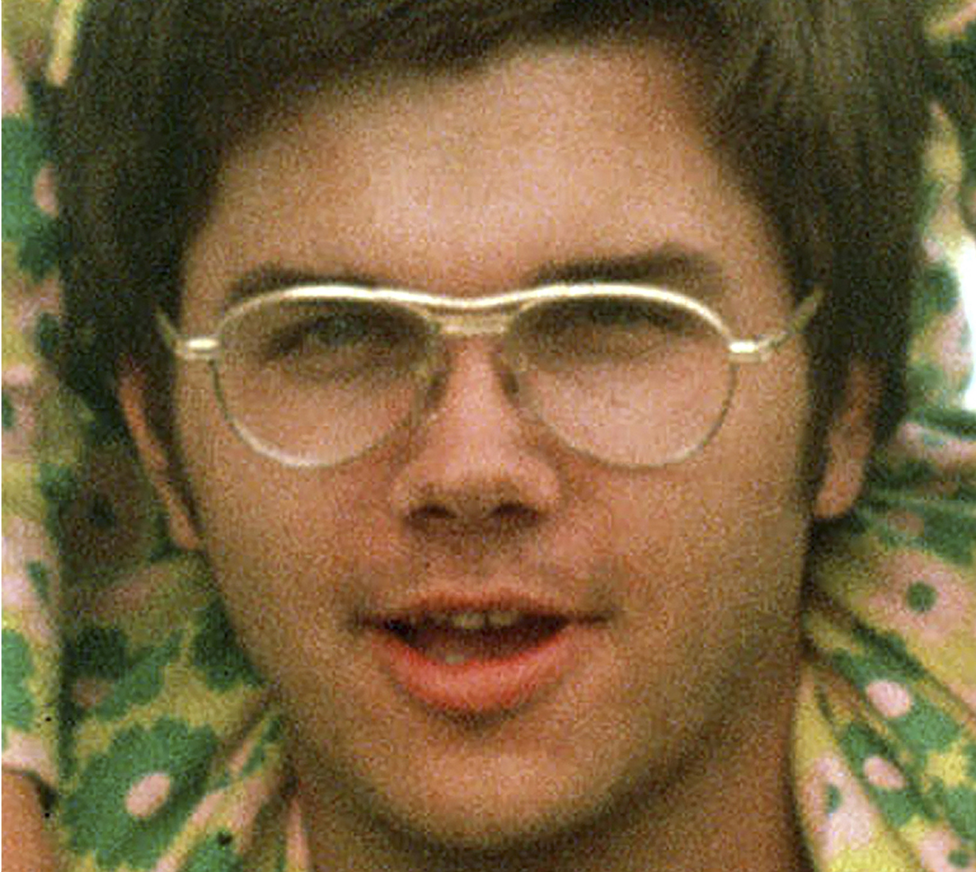 In this 1975 file photo, Mark David Chapman is seen at Fort Chaffee near Fort Smith, Ark. The New York state Board of Parole on Monday,  Aug. 29, 2016, announced that it has again denied parole to Chapman, who on Dec. 8, 1980, shot and killed John Lennon