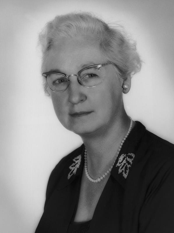 American doctor Virginia Apgar in June 1959.