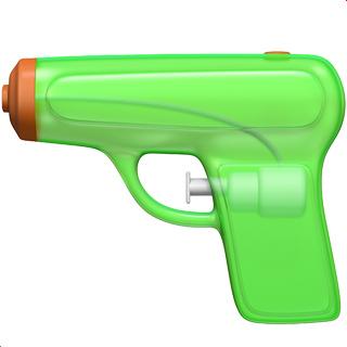 Water Pistol Emoji