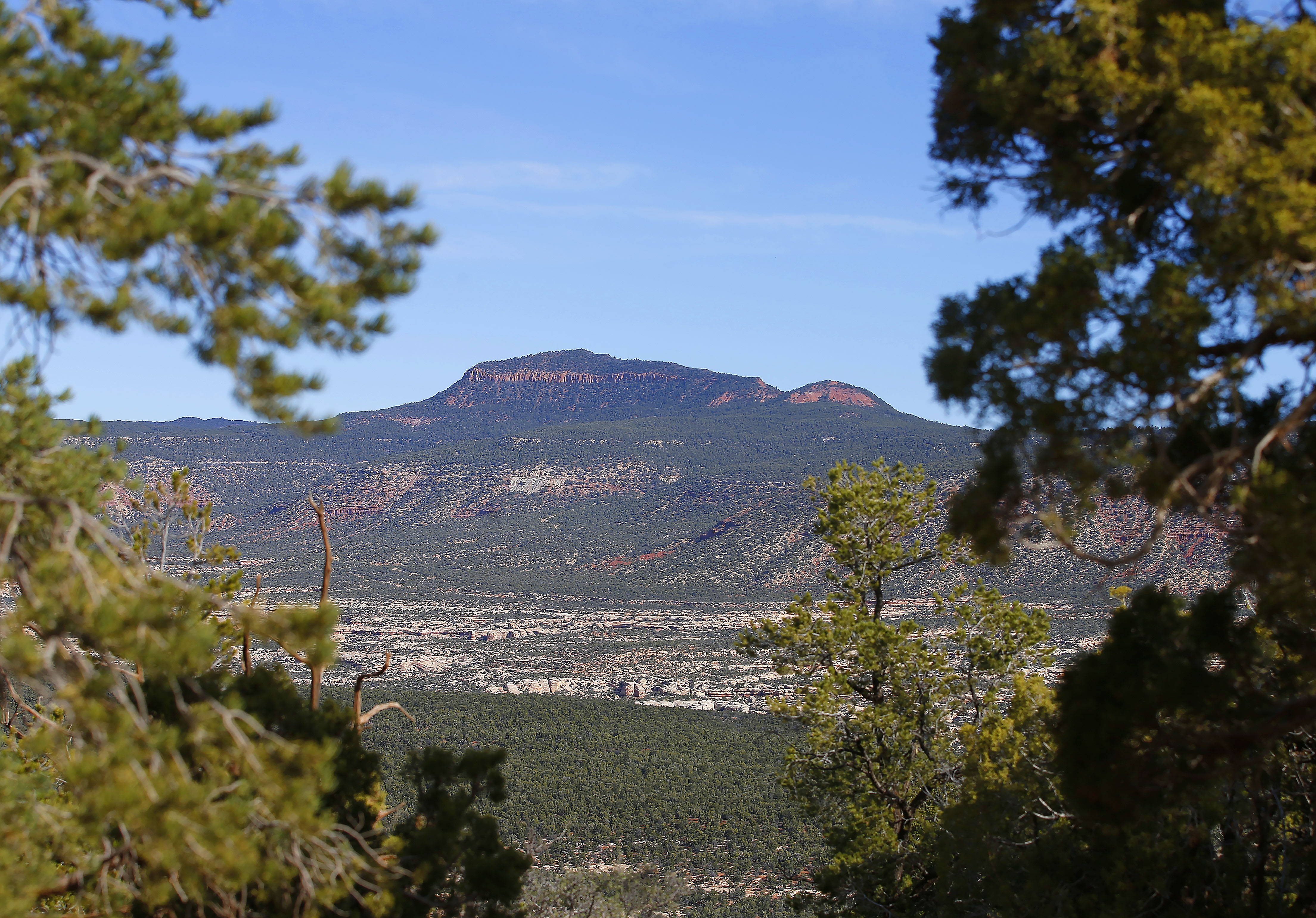 Bears Ears, in Utah, which Native American tribes want the Obama administration to declare a national monument.