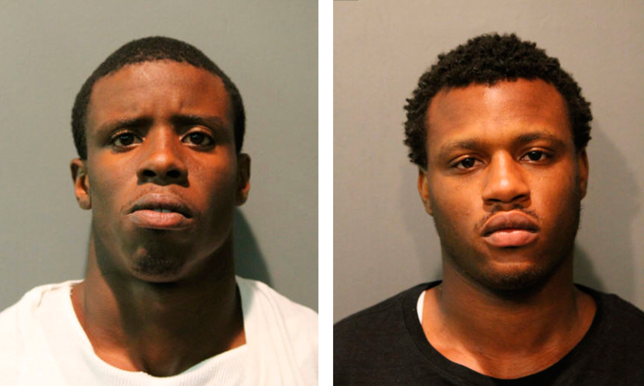 Brothers Darwin (left) and Derren Sorrells, in a photo provided by the Chicago Police Department.