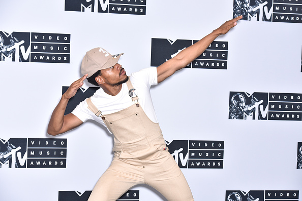 Chance the Rapper attends the 2016 MTV Video Music Awards Press Room at Madison Square Garden on August 28, 2016 in New York City.