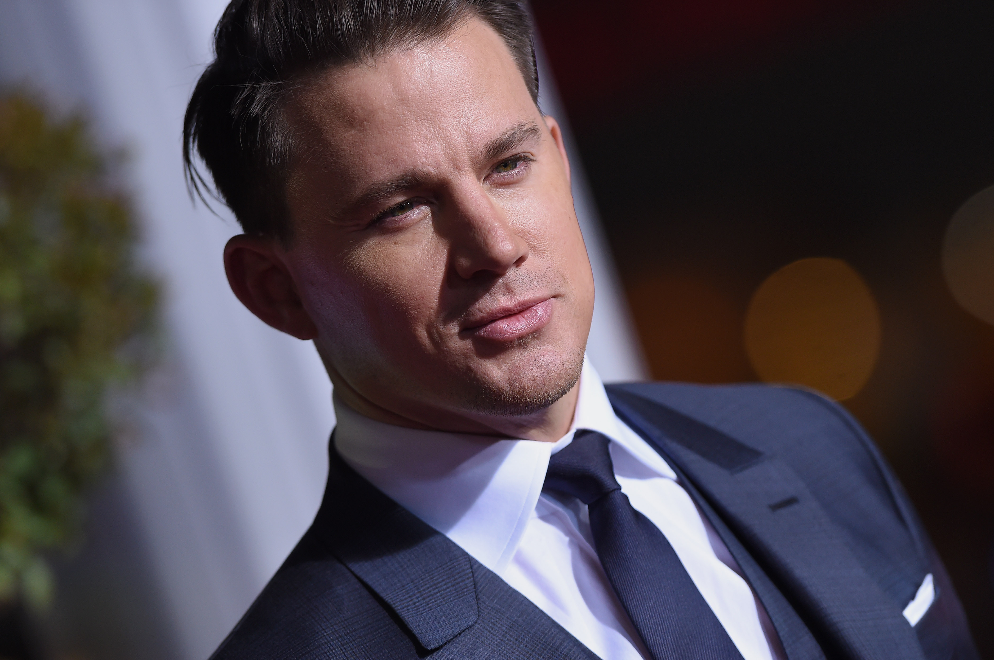 Channing Tatum arrives at the premiere of' 'Hail, Caesar!' at Regency Village Theatre on February 1, 2016 in Westwood, CA.