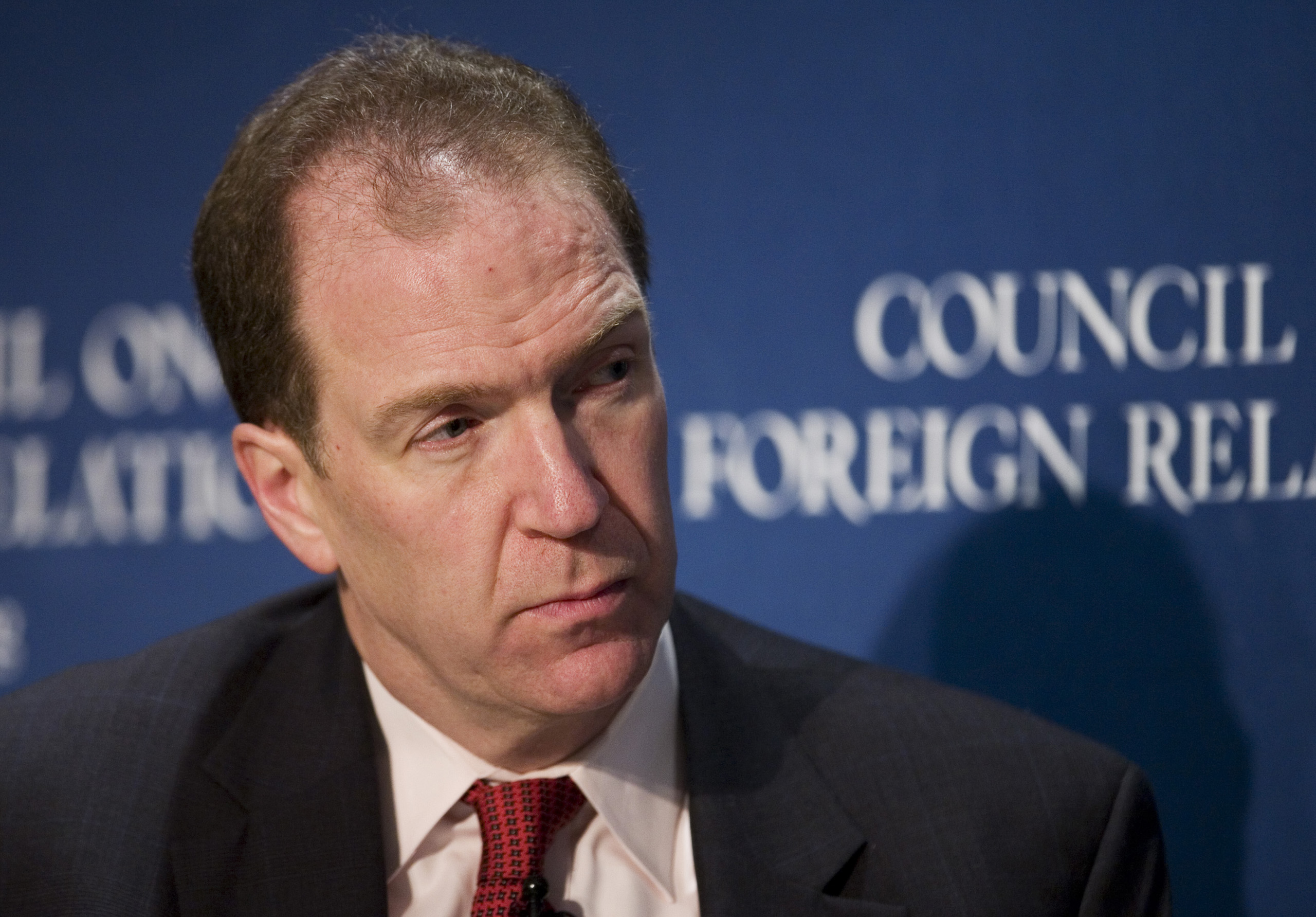 David Malpass, the Chief Economist at Bear, Stearns and Co. Inc., speaks at the Council on Foreign Relations in New York City on Nov. 19, 2007.