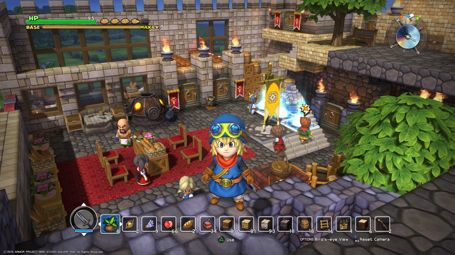 Dragon Quest Builders Isn T A Minecraft Clone Time For this, two bonfires, a chest and a marshroom (found in the mine) are needed. dragon quest builders isn t a minecraft