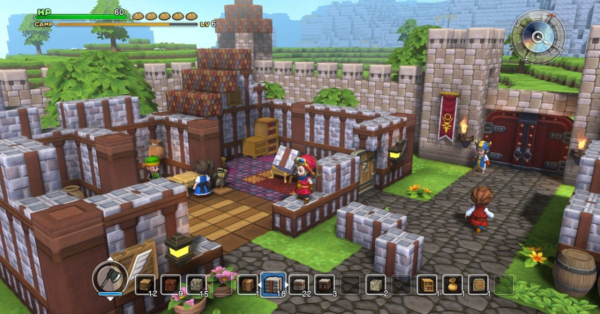 Dragon Quest Builders Isn T A Minecraft Clone Time