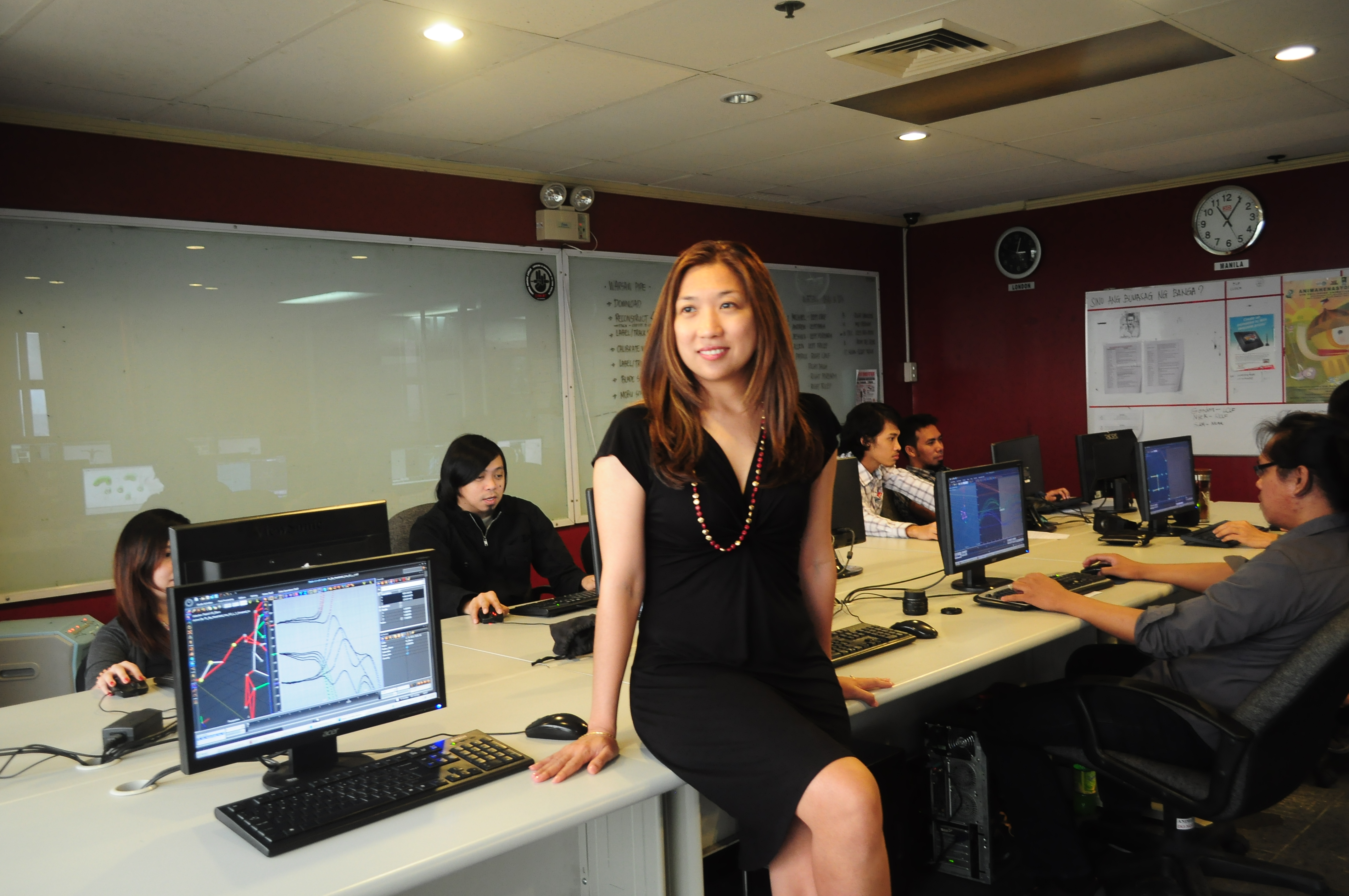 Marla Rausch is the founder of animation and motion capture services company Animation Vertigo, which has offices in the U.S. and her birth country, the Philippines.