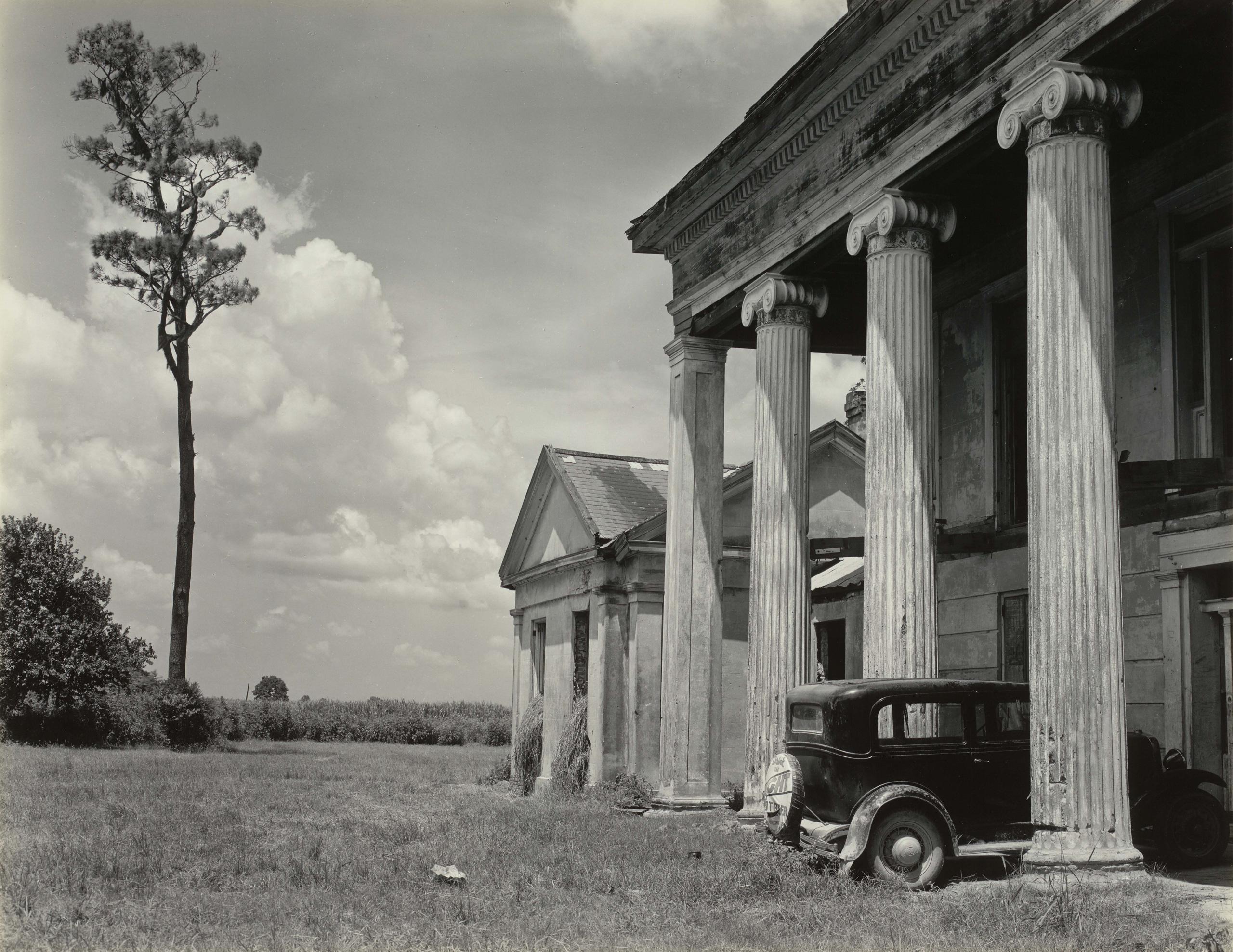 Woodlawn Plantation House, Louisiana, 1941