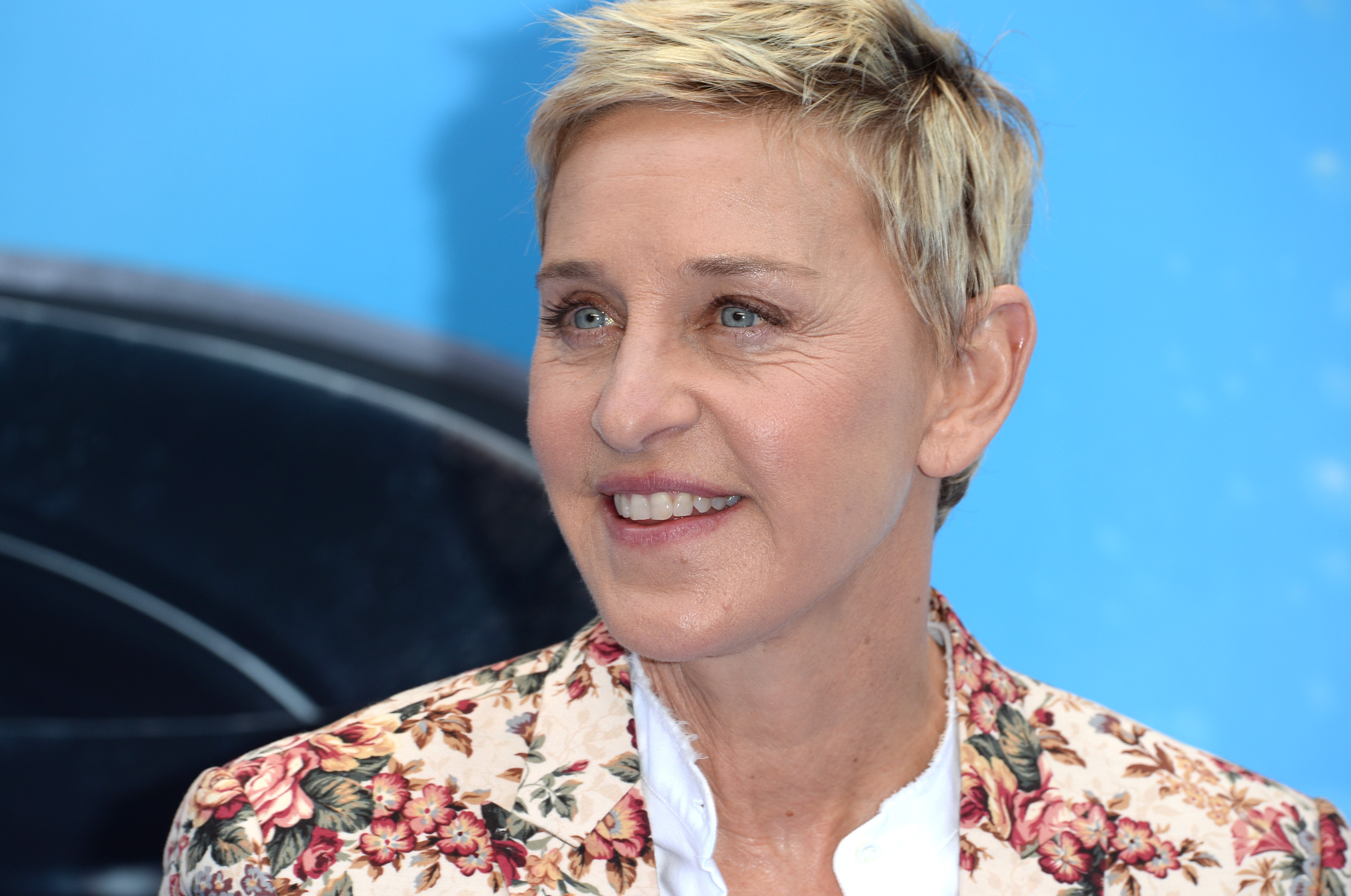 Ellen DeGeneres attends the UK Premiere of  Finding Dory  at Odeon Leicester Square in London on July 10, 2016.