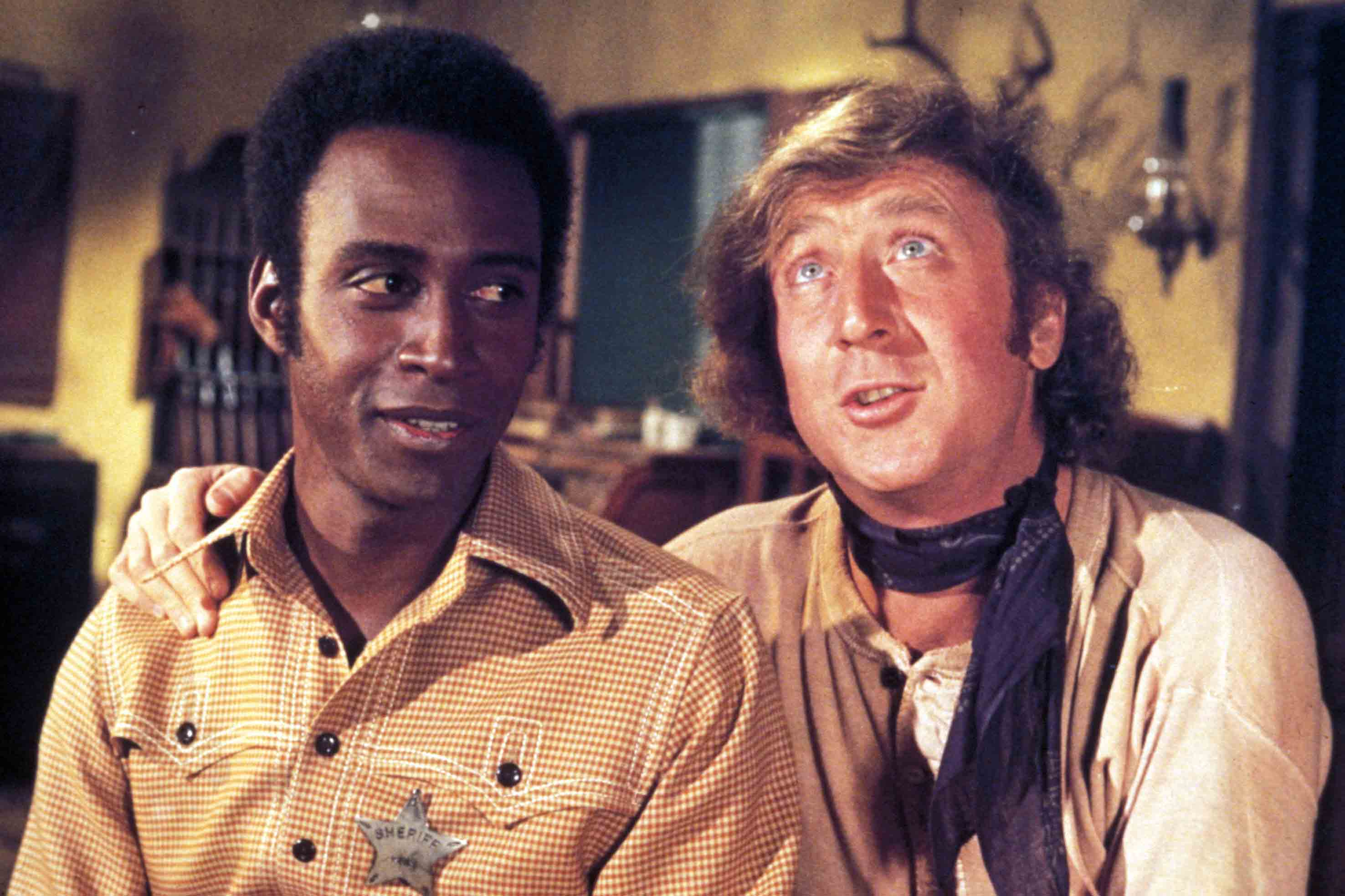 Blazing Saddles, 1974.