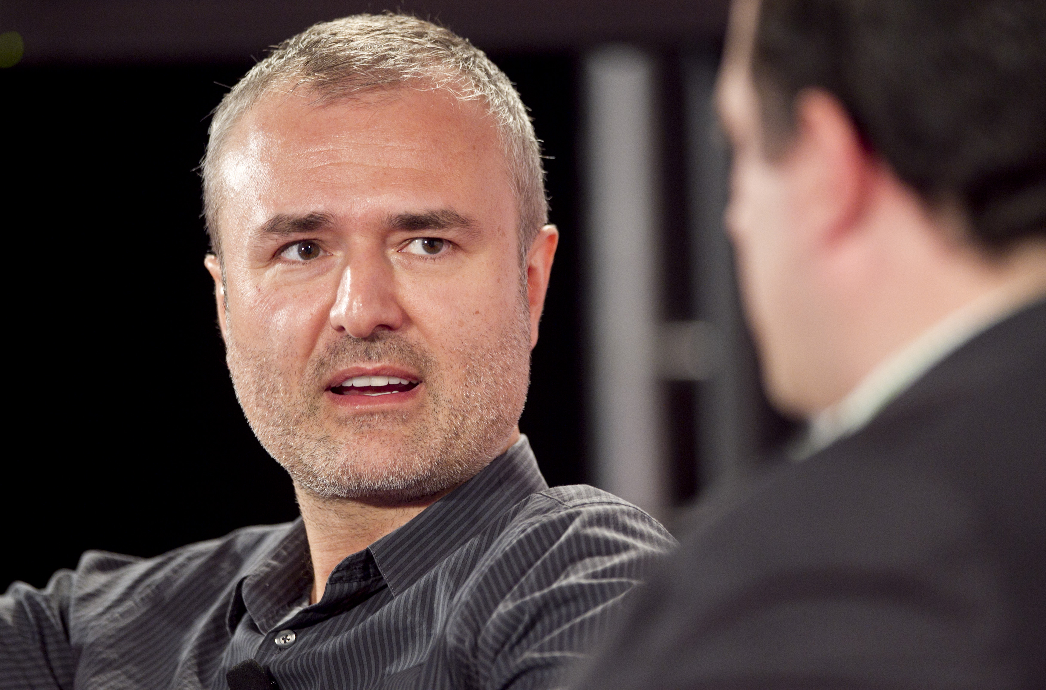 Nick Denton, founder of Gawker Media during the Interactive Advertising Bureau (IAB) MIXX 2010 conference and expo in New York, on Sept. 27, 2010.