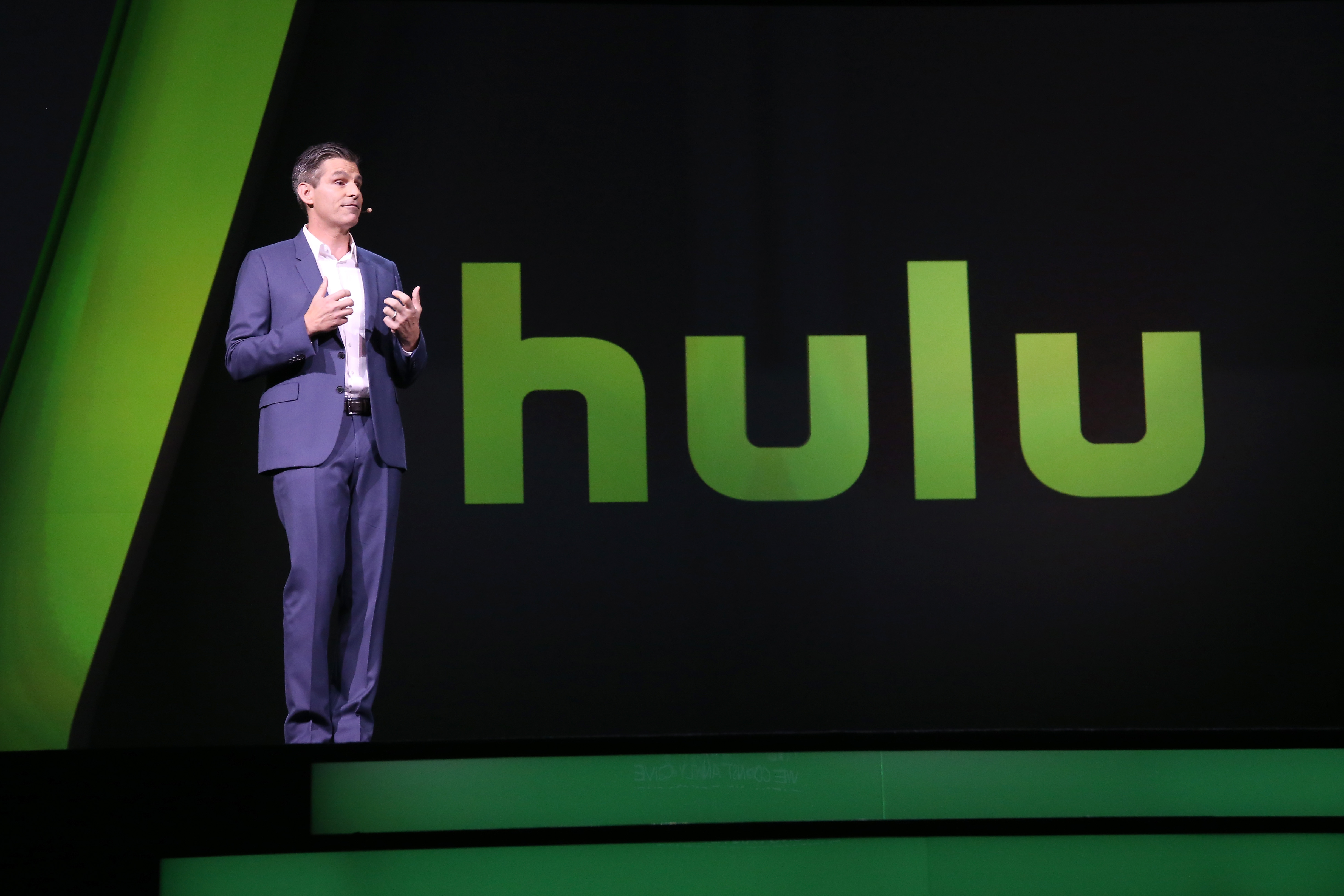 Hulu CEO Mike Hopkins talks TV in May 2016.