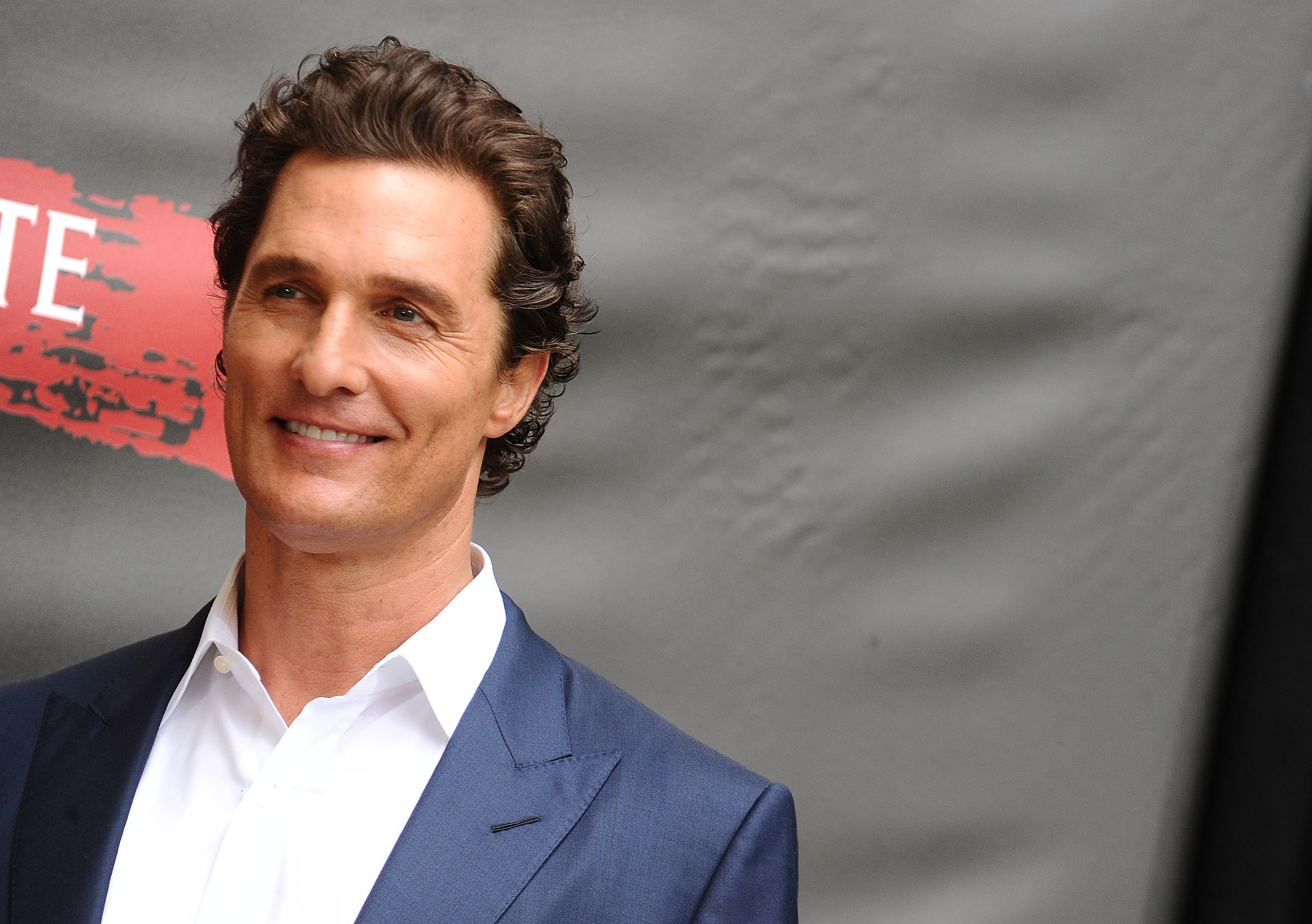 Actor Matthew McConaughey attends a photo call for Free State of Jones at Four Seasons Hotel Los Angeles at Beverly Hills, in Los Angeles, on May 11, 2016