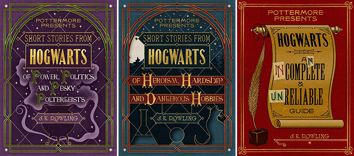 J.K. Rowling's enlightening updates and personal reflections have been knitted into three short story collections, released as $2.70 eBooks Tuesday