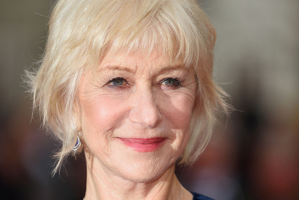 Helen Mirren arrives for the UK premiere of  Eye In The Sky  at Curzon Mayfair on April 11, 2016 in London, United Kingdom.