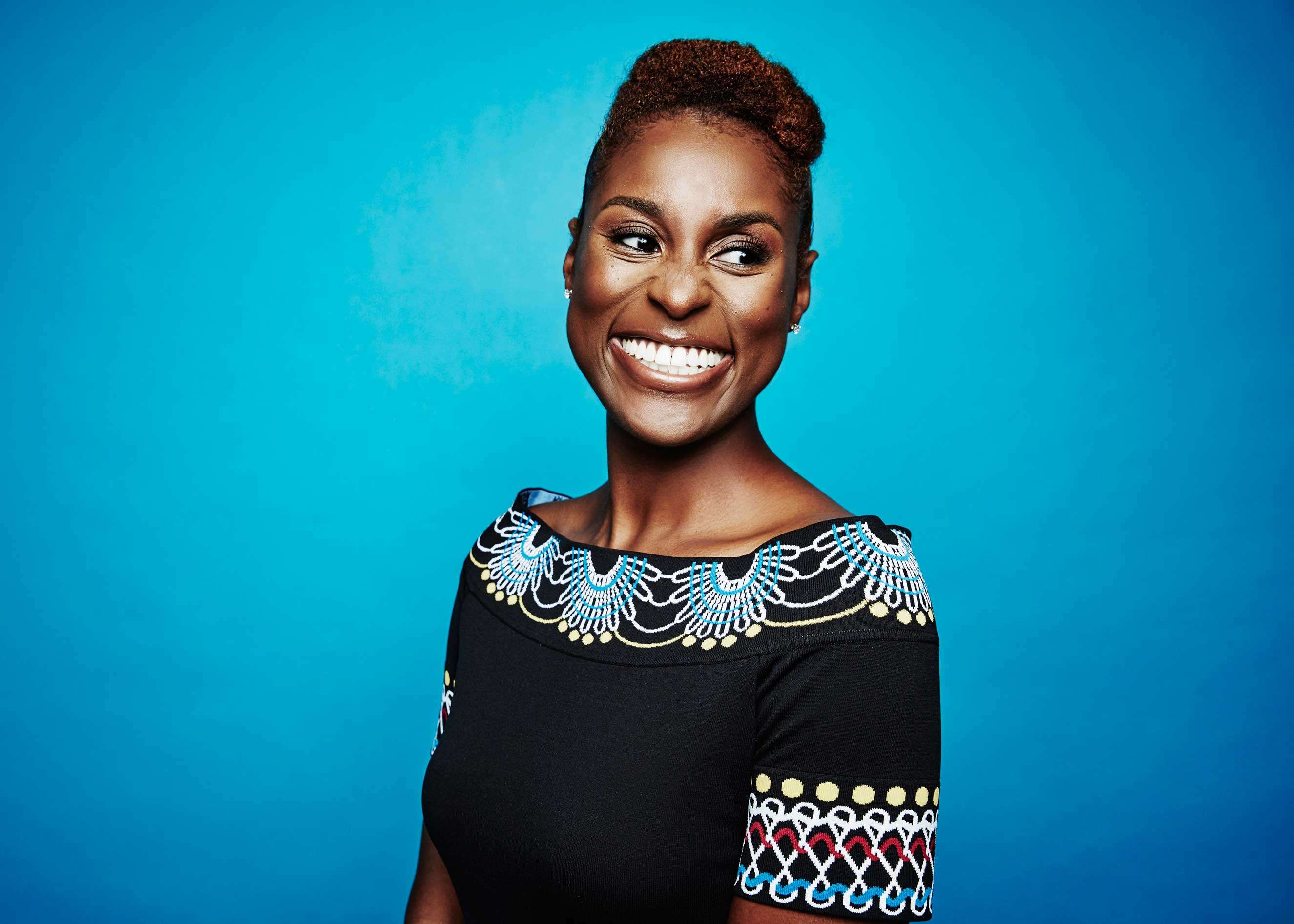 Issa Rae from HBO's 'Insecure' poses for a portrait at the 2016 Summer TCAs Getty Images Portrait Studio at the Beverly Hilton Hotel on July 27th, 2016 in Beverly Hills, California
