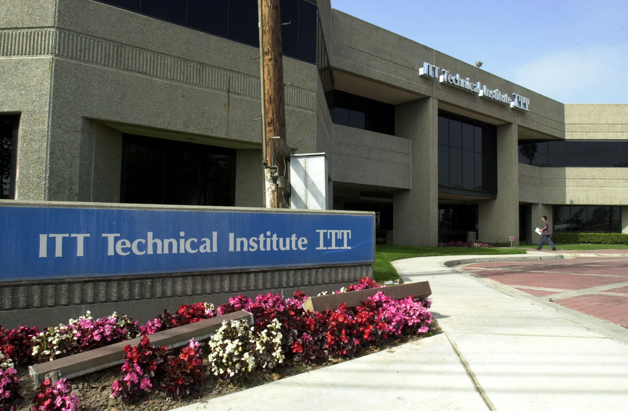 The campus of ITT Technical Institute in Anaheim, Calif., on March 15, 2004.