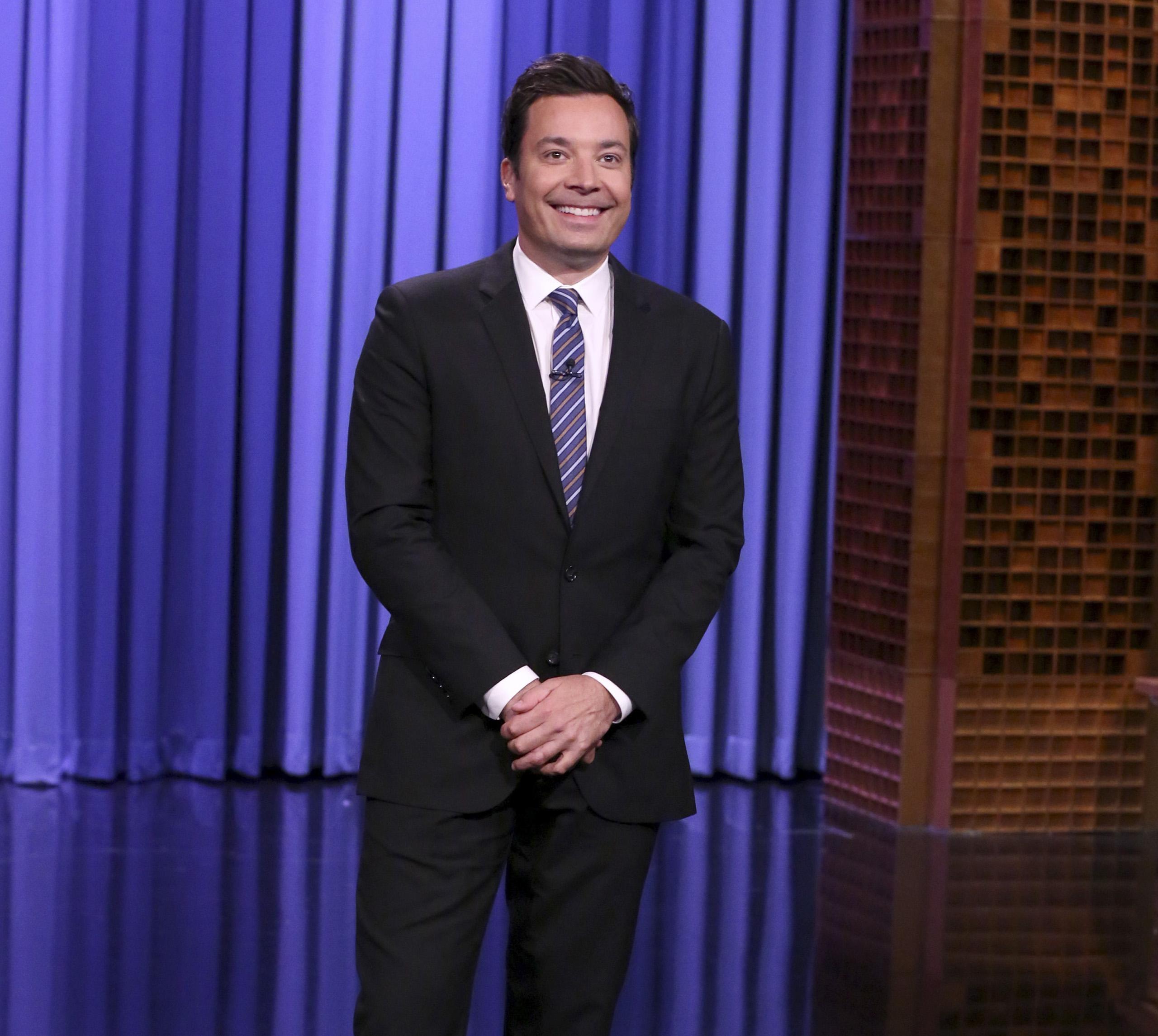 Host Jimmy Fallon on July 14, 2016.