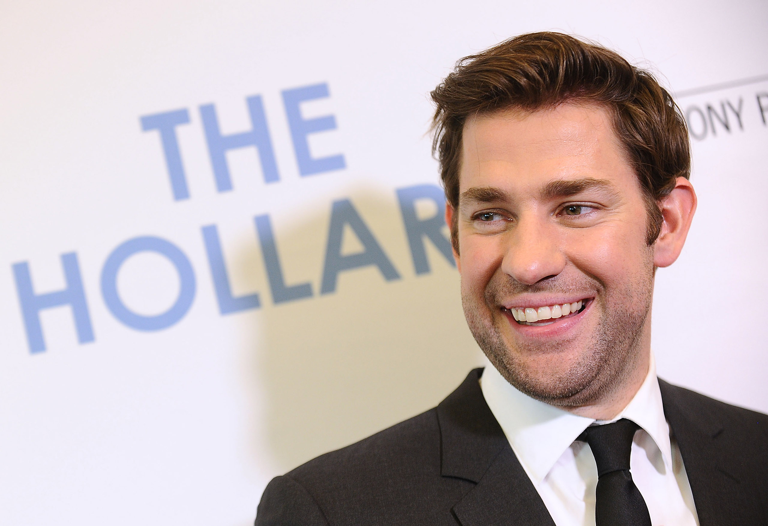 Actor John Krasinski attends the premiere of  The Hollars  at Linwood Dunn Theater on August 22, 2016 in Los Angeles, California.