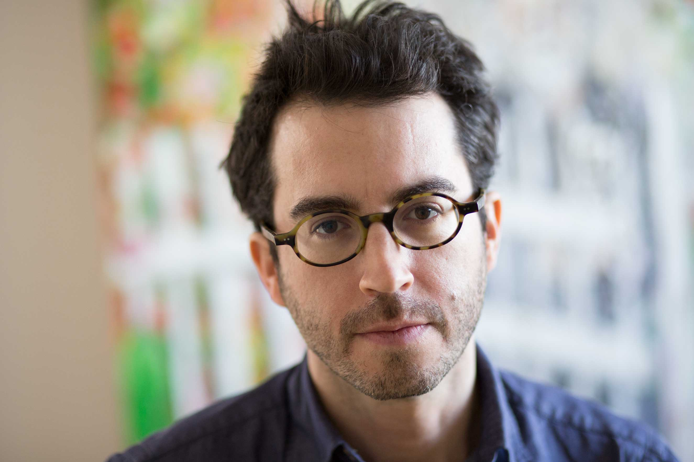 Portrait of author Jonathan Safran Foer
