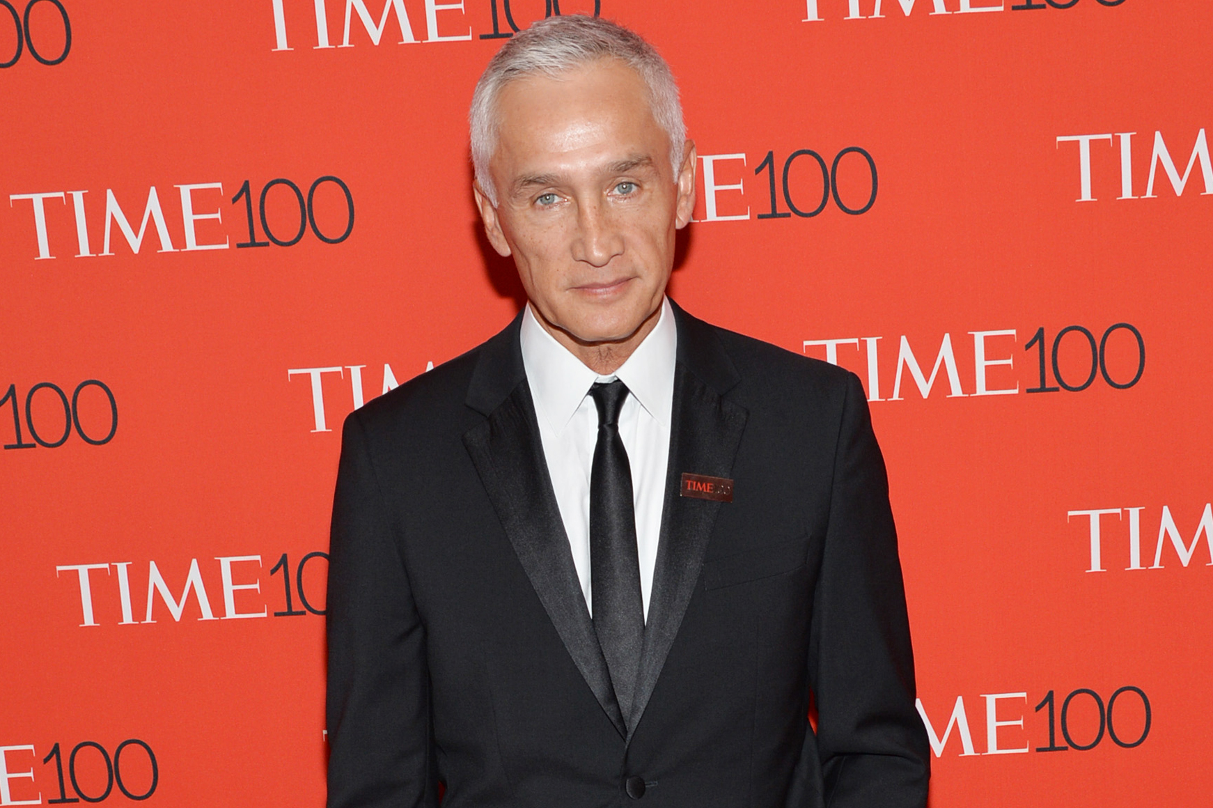 Jorge Ramos attends the TIME 100 Gala, on April 21, 2015, in New York City.