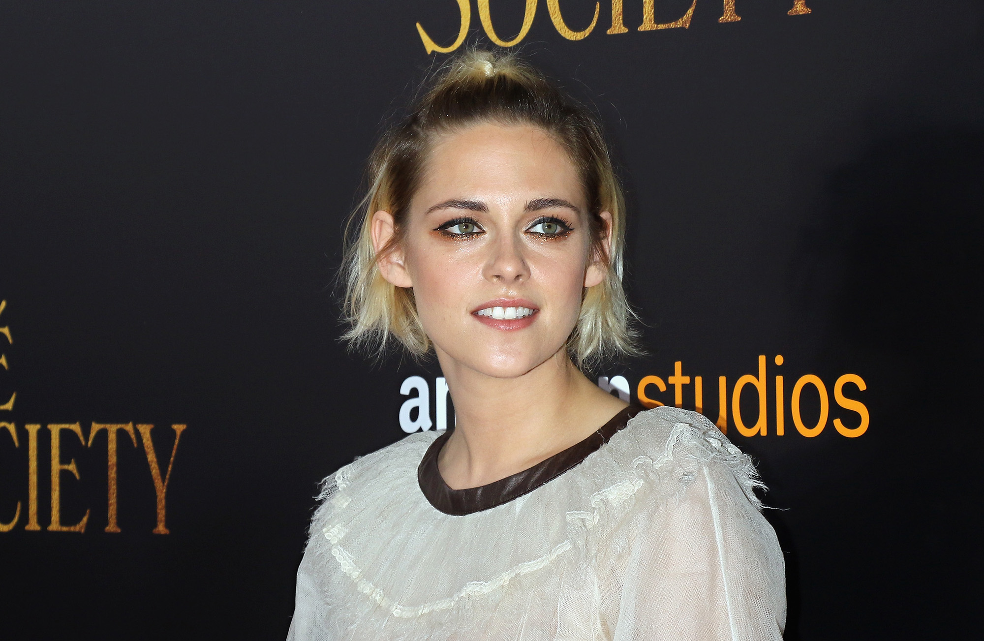 Kristen Stewart attends the New York premiere of  Cafe Society  hosted by Amazon & Lionsgate with The Cinema Society at Paris Theatre on July 13, 2016 in New York City.  (Photo by Jim Spellman/WireImage)