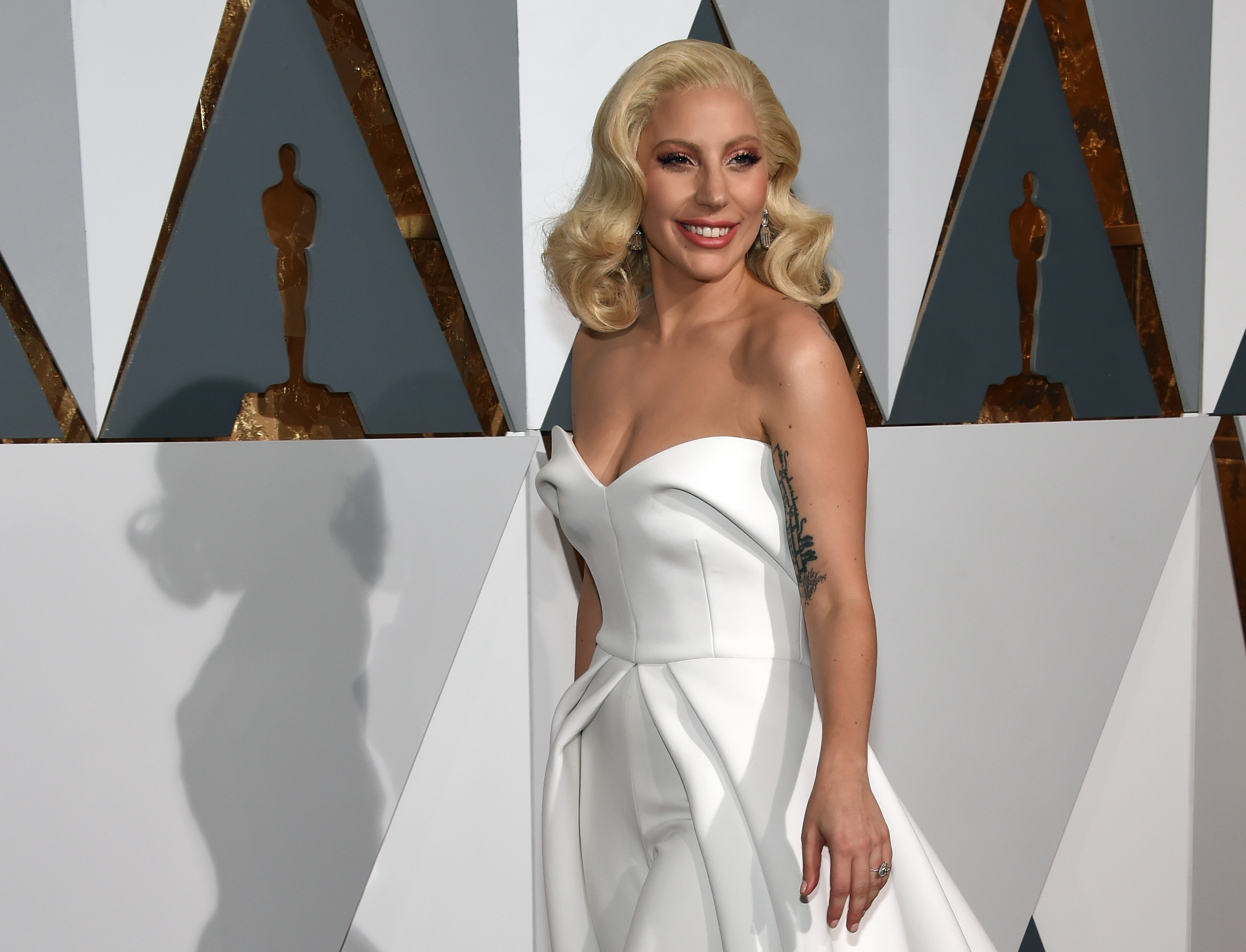 Recording artist/actress Lady Gaga attends the 88th Annual Academy Awards at Hollywood & Highland Center on February 28, 2016 in Hollywood, California.
