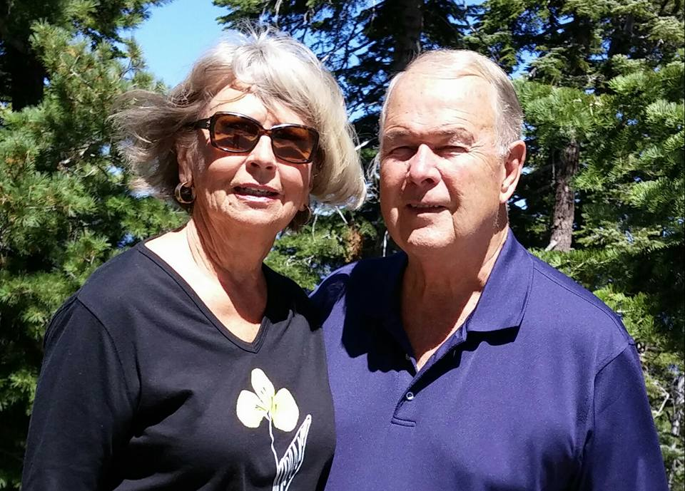 Mary Knowlton, 73, (pictured here with her husband, Gary) was accidentally shot dead by a police officer during a citizen police academy course at the Punta Gorda, Fla., police station.