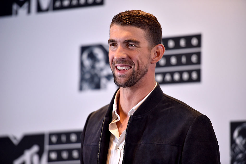 Michael Phelps attends the 2016 MTV Music Video Awards at Madison Square Garden on August 28, 2016 in New York City.
