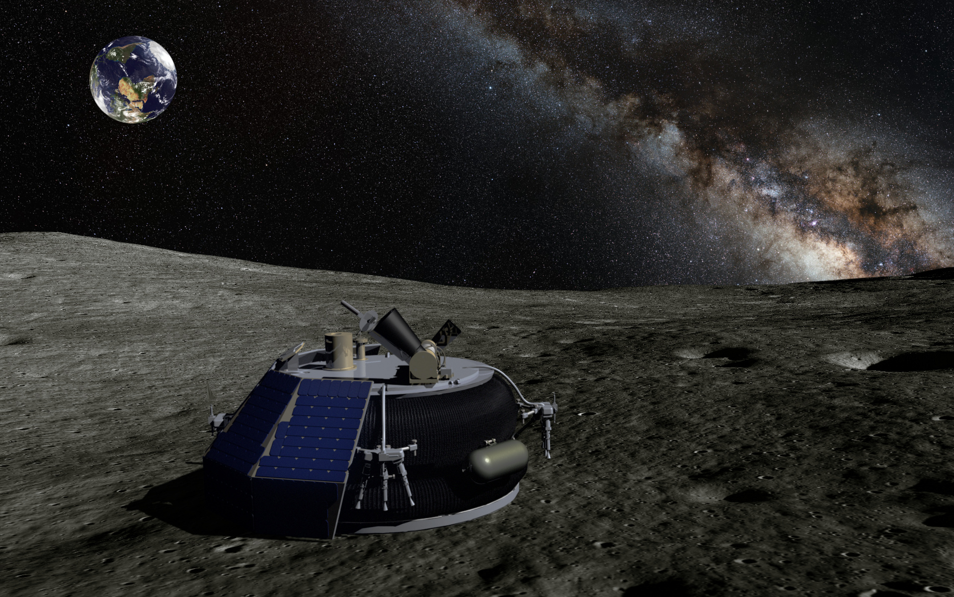 Moon Express MX-1 rendering