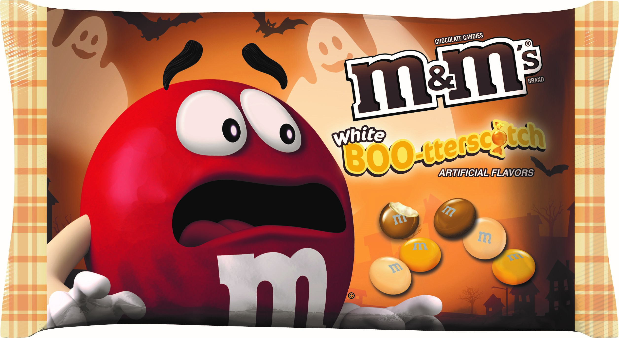 M&M'S White Chocolate BOO-tterscotch Candies