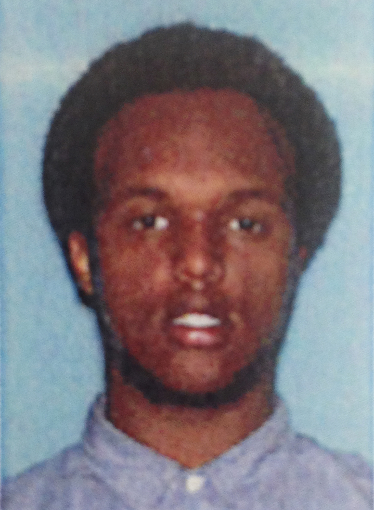 This undated file photo provided by the U.S. Attorney's Office shows Mohamed Roble, a survivor of the 2007 Minneapolis bridge collapse. Roble was charged Aug. 24, 2016, with providing and conspiring to provide material support to a foreign terrorist organization.