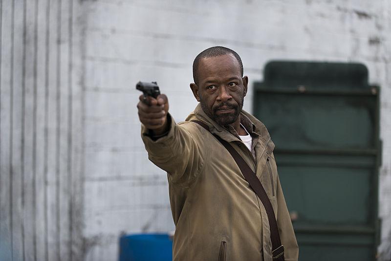 Lennie James as Morgan Jones in The Walking Dead Season 6, Episode 16