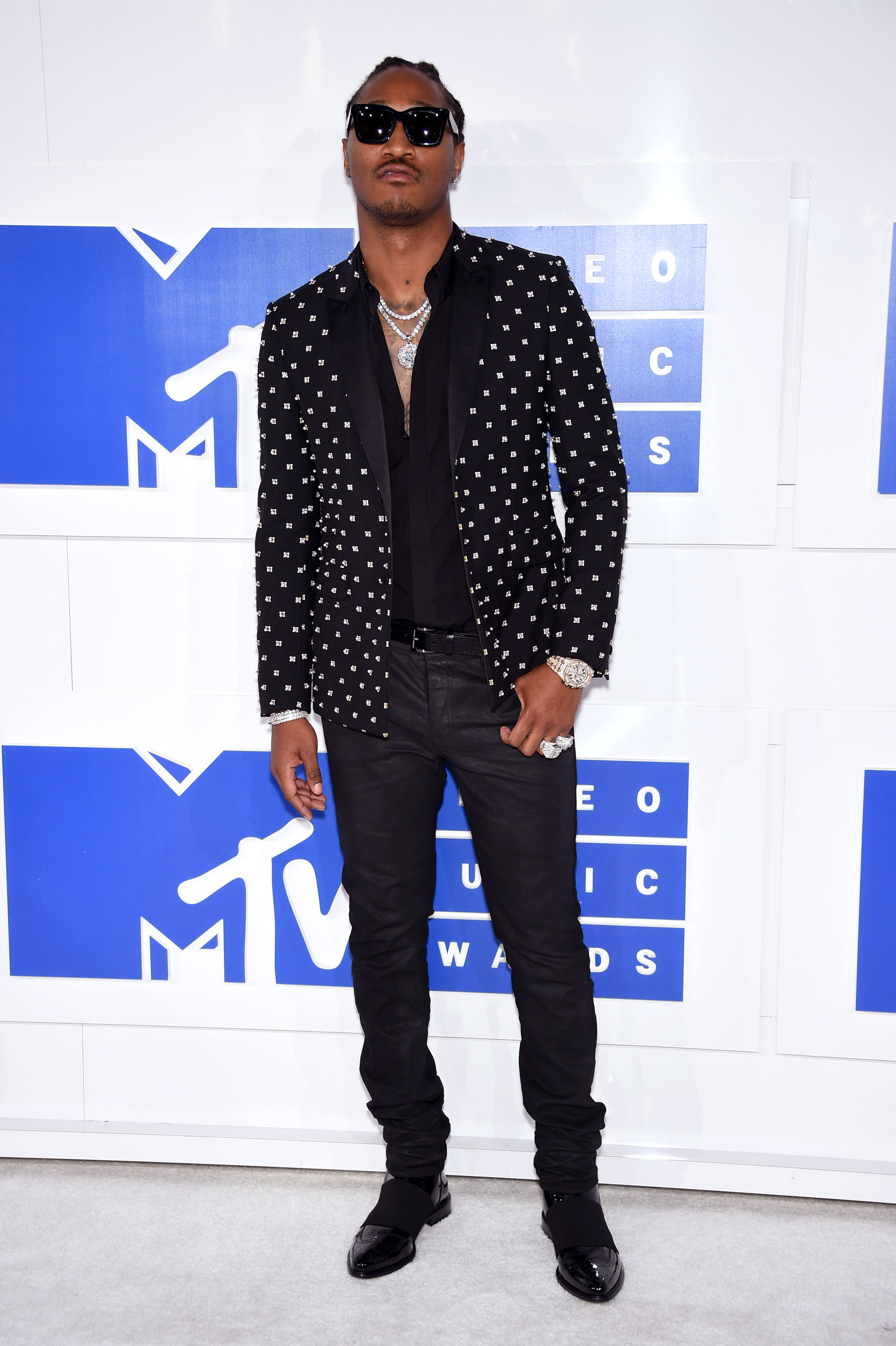 Future attends the 2016 MTV Video Music Awards at Madison Square Garden on Aug. 28, 2016 in New York City.