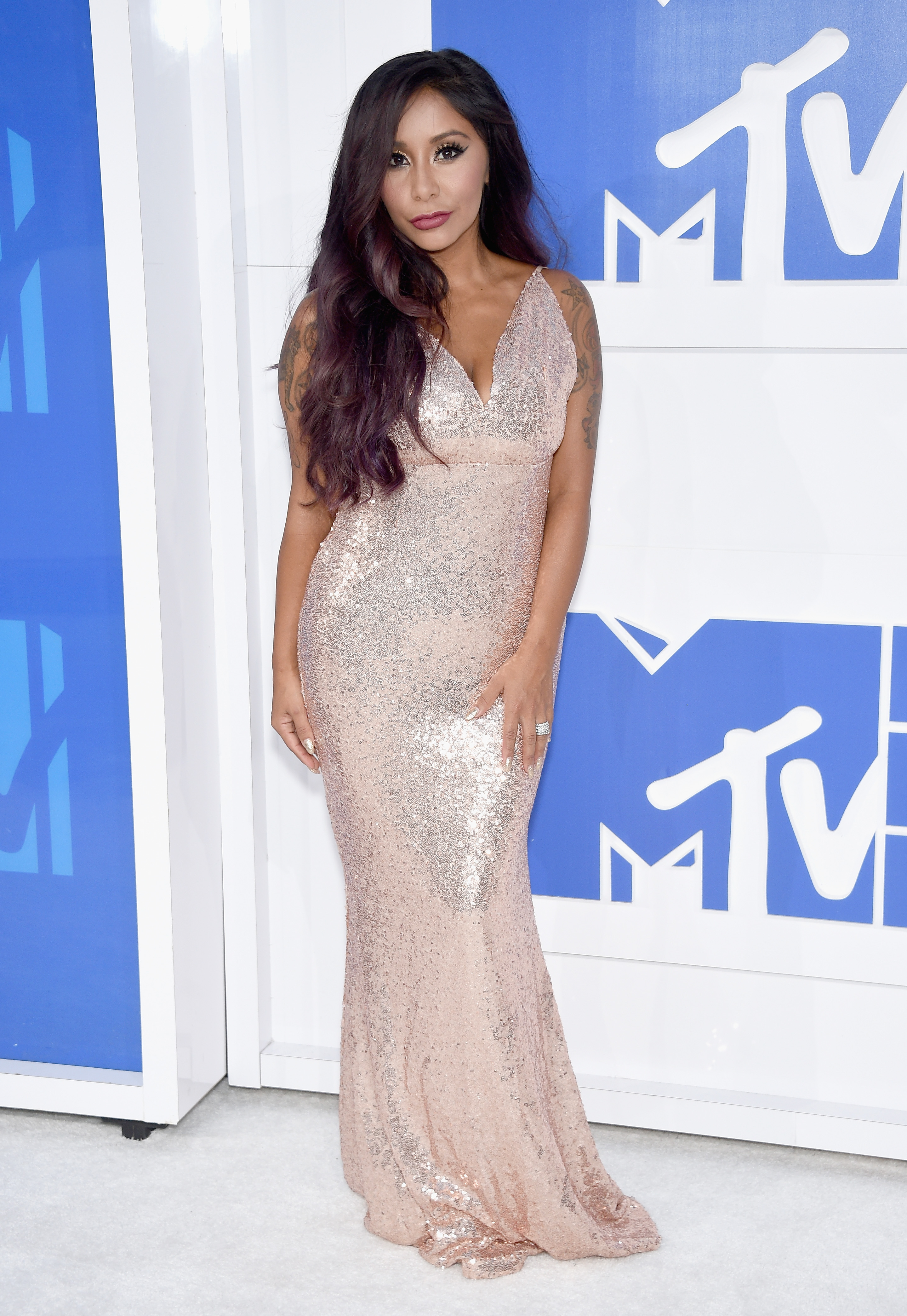 Nicole 'Snooki' Polizzi attends the 2016 MTV Video Music Awards at Madison Square Garden on Aug. 28, 2016 in New York City.