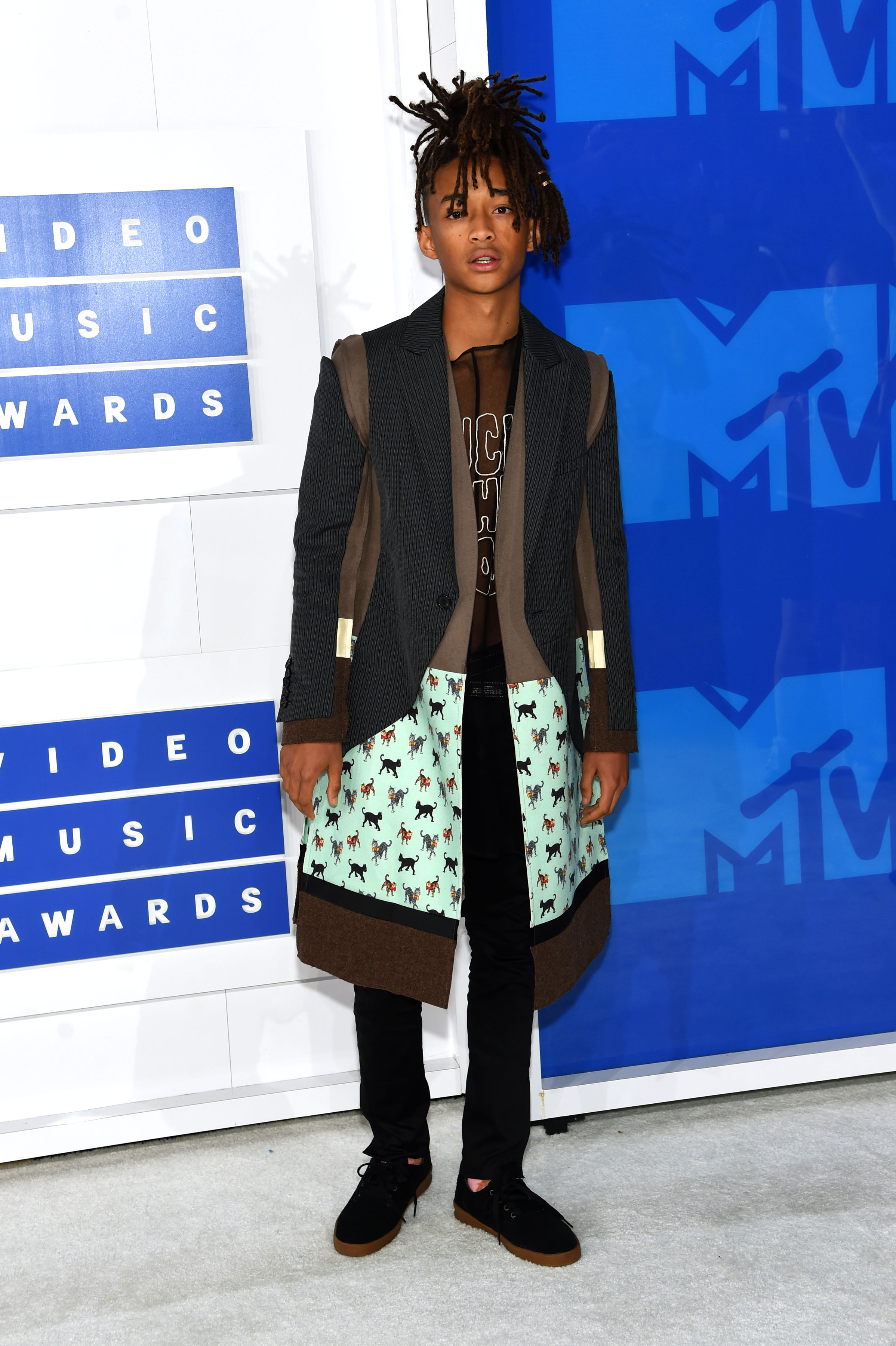 Jaden Smith attends the 2016 MTV Video Music Awards at Madison Square Garden on Aug. 28, 2016 in New York City.